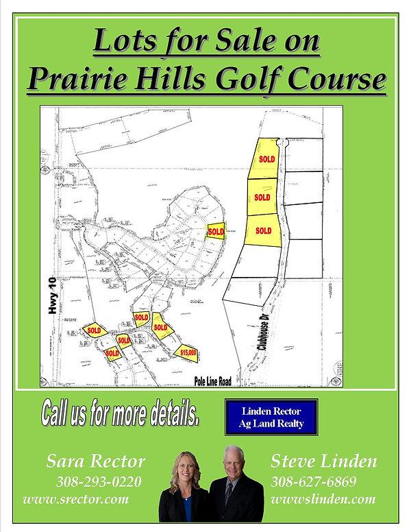 information sheet- All Prairie Hills Lot