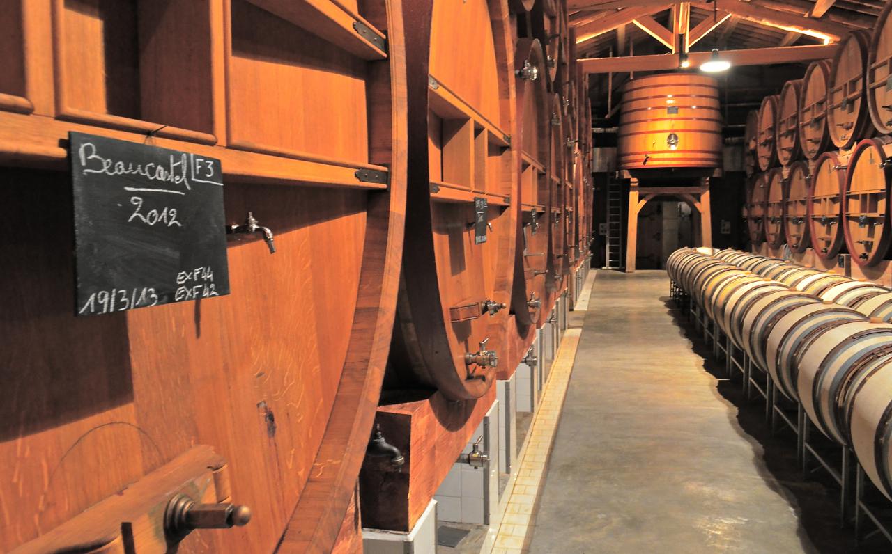 Vat cellar 2, Beaucastel
