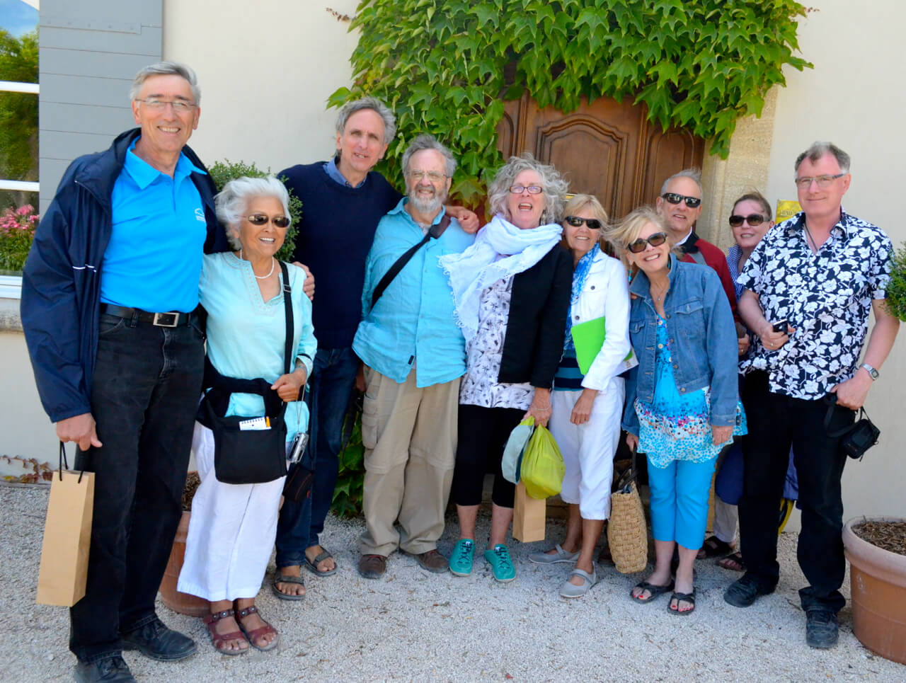 Chateau Beaucastel wine tour group