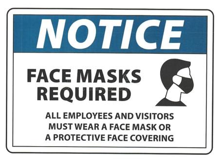 Please wear your masks!
