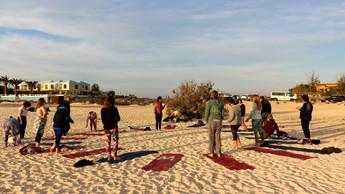 Sunset ceremony Fuerteventura