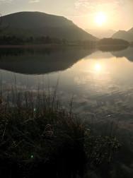 Sunrise in Wales