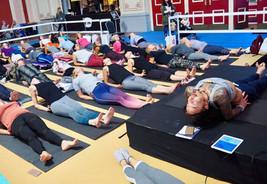 ...Om Yoga Show 2018...