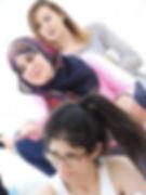 Palestine Yogabeats students