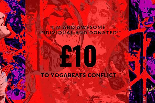 Yogabeats Conflict £10 Donation