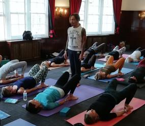...The Bristish Wheel Of Yoga 2018...