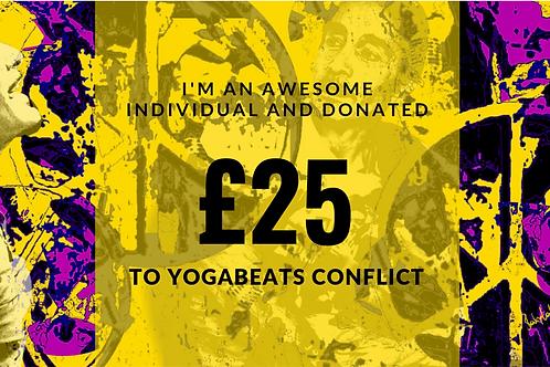 Yogabeats Conflict £25 Donation