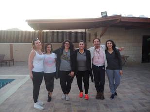 Palestine teacher training crew