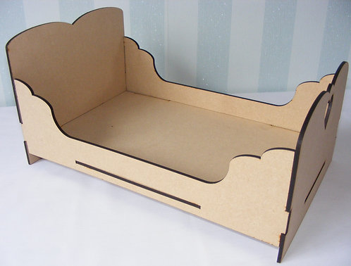 Flat Packed Dolls Bed