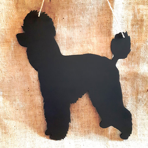 Poodle Chalkboard