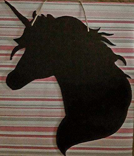 Unicorn Chalkboard