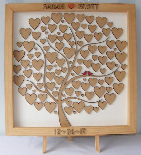 Large Wedding Guest Book Tree