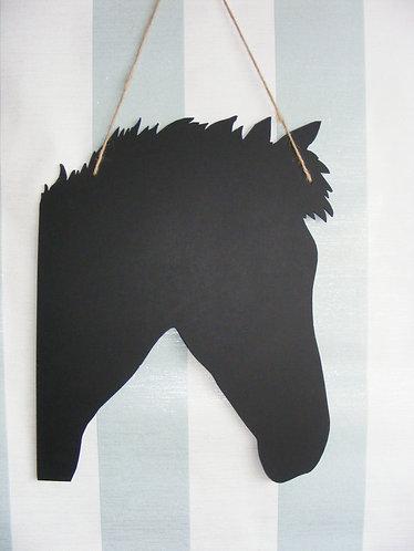 Horse Chalkboard