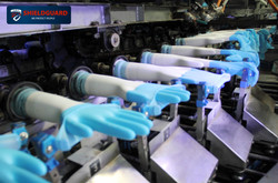 Automated Glove Stripping