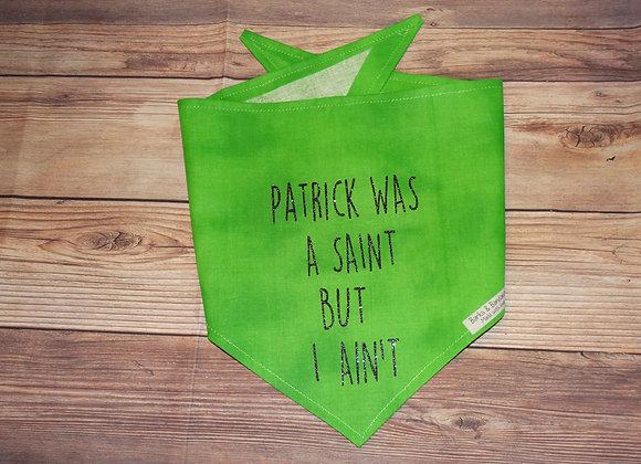 SAINT PATRICK'S DAY BANDANA