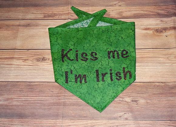KISS ME I'M IRISH BANDANA