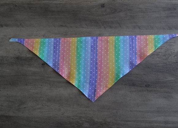 NOTHING BUT PRIDE TIE BANDANA