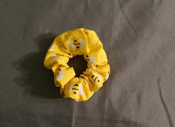 BEE HAPPY SCRUNCHIE