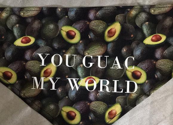 YOU GUAC MY WORLD BANDANA