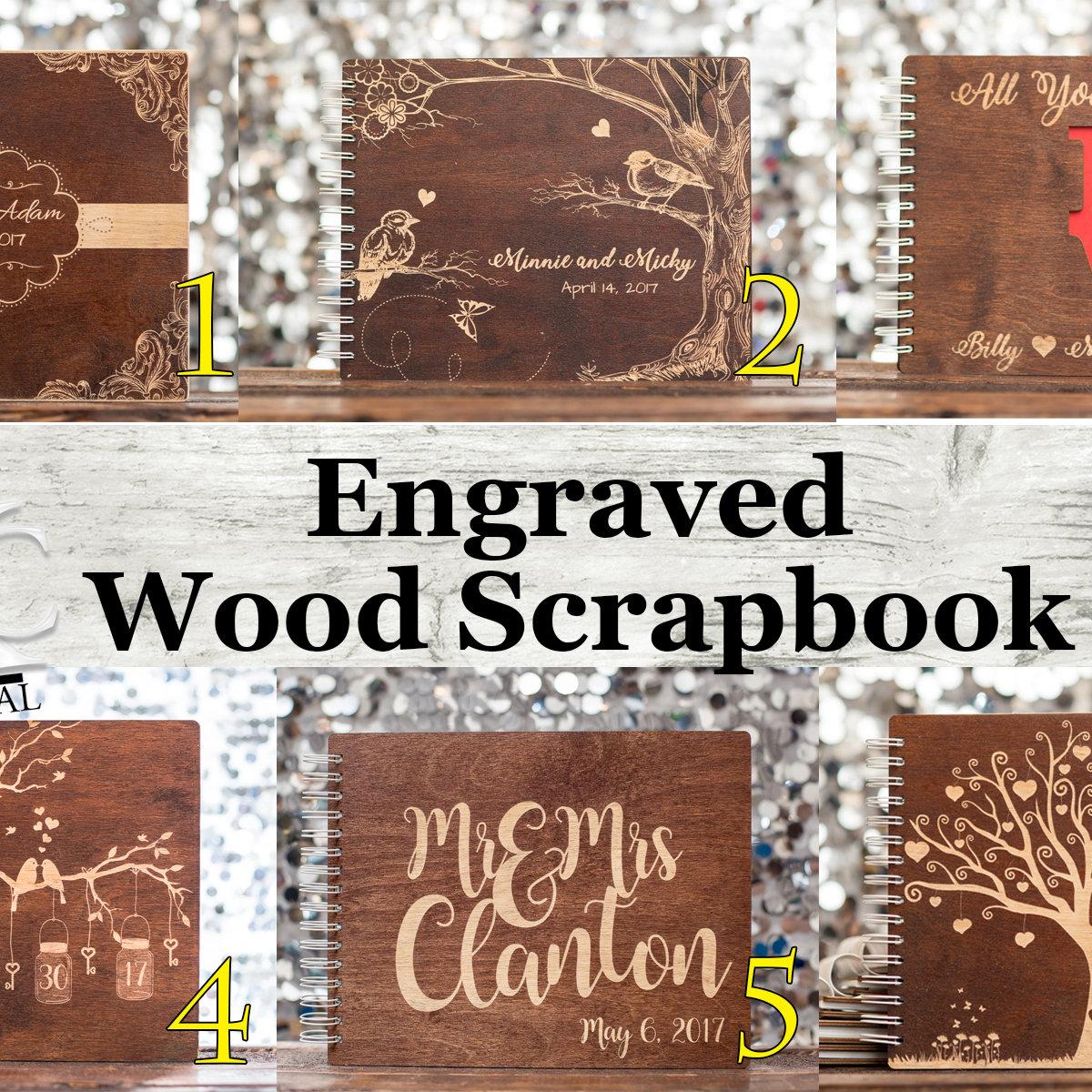 Wood Scrapbook ADD-on