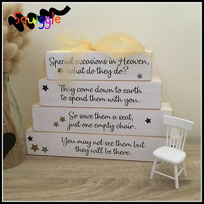 Special Occasions in Heaven Block set