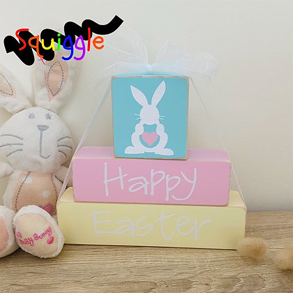 Happy Easter - Block Set (Small)