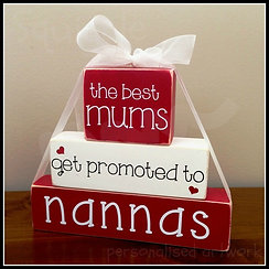"""""""Best Mums get promoted to"""" Block sets"""