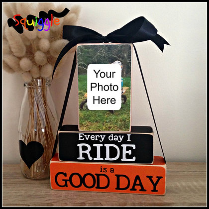 'Every Day I Ride' motocross block set