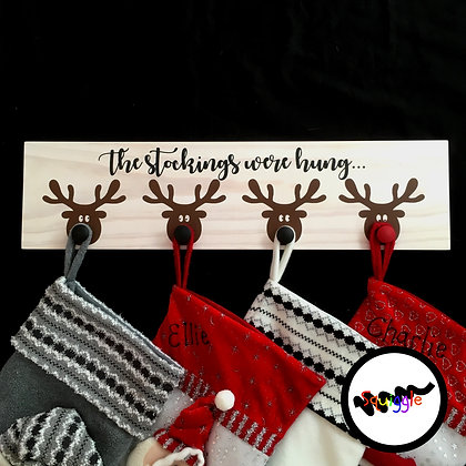 Reindeer Stocking hooks
