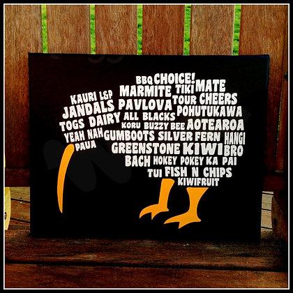 Word Art - Kiwi