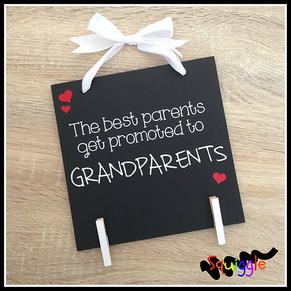 Photo hanger for the best (grand)parents