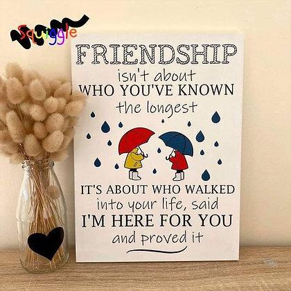 Friendship sign