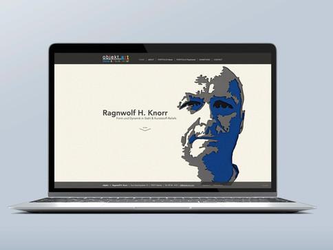 Ragnwolf H. Knorr - Stahl & Kunststoffreliefs