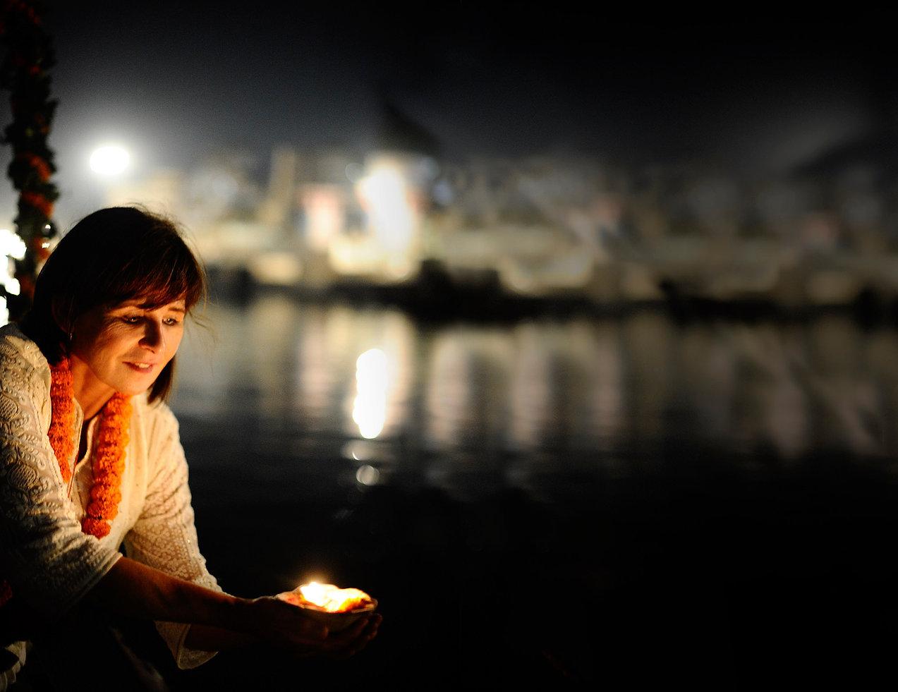 Varanasi Verbrennungsstätte