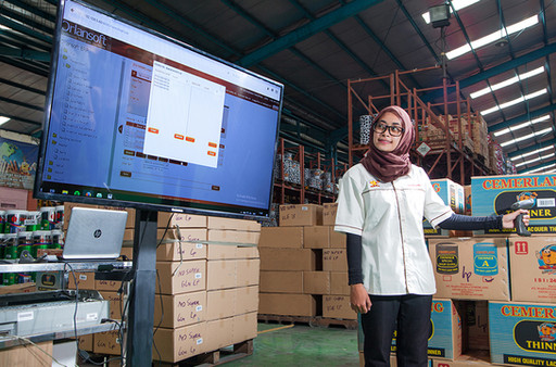 WAREHOUSE BARCODE SYSTEM