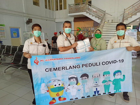 Kegiatan CSR - Cemerlang Peduli COVID-19