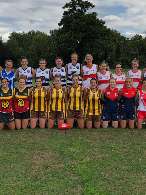 AFL London all stars 2018