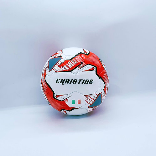 MINI SOCCER BALL WITH COUNTRY FLAG (RED)