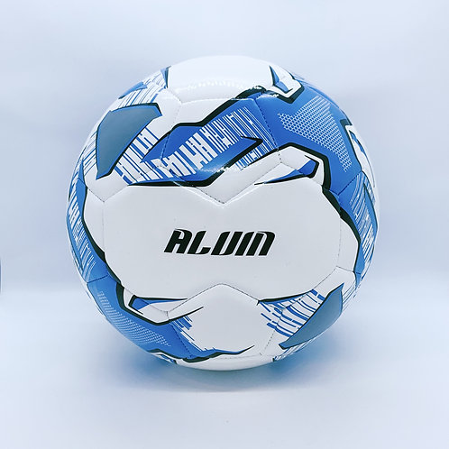 FULL SIZE FOOTBALL WITH NAME (BLUE)