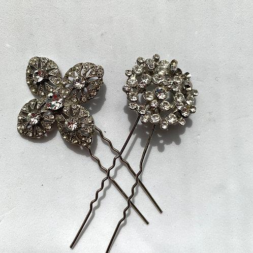 Vintage style pins