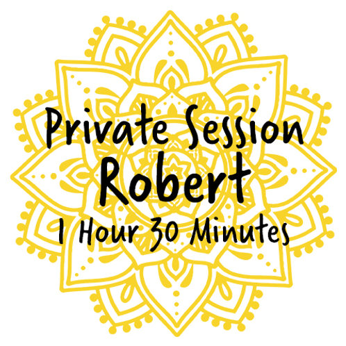 Private Energy Healing Session with Robert (1:30)