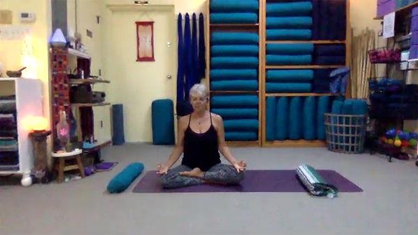 Loving Light Yoga Video Description - Yin Yoga