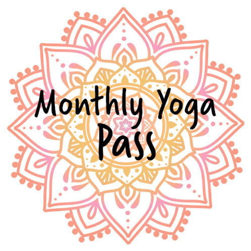 Package – Monthly Yoga Pass Card