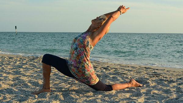 Loving Light Yoga Video Description - Energized Yoga Flow