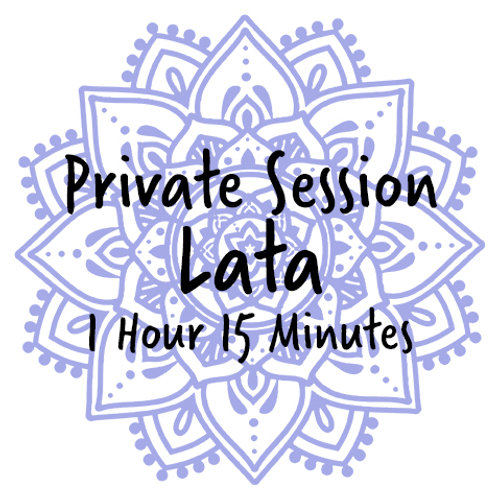 Private One-On-One Session with Lata (1:15)