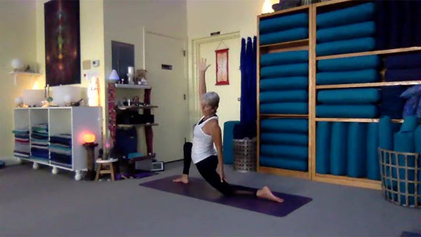 Loving Light Yoga Video Description - Slow Flow Yoga
