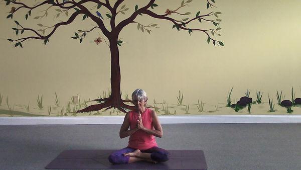 Loving Light Yoga Video Description - Gentle Yoga Flow and Relaxation