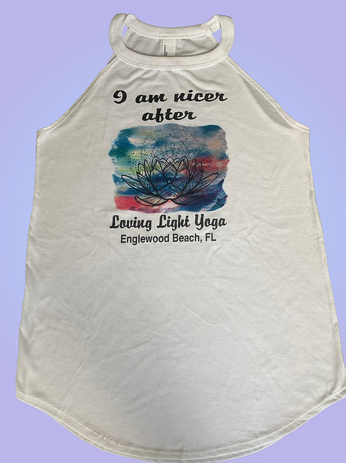 Clothing - Woman's  Flowy Tank Shirt