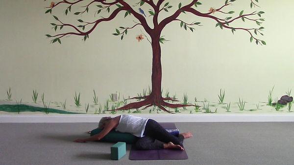 Loving Light Yoga Video Description - Restore With Yoga