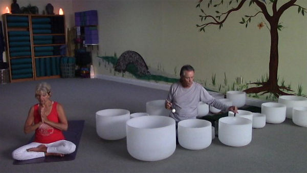 Loving Light Yoga Video Description - Earth Day Celebration with the Crystal Bowls (4/2020)